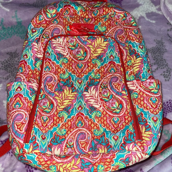 Vera Bradley Backpack- Paisley in Paradise